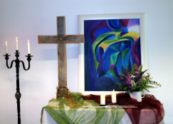 Altar mit Bild, Heaven@Eleven